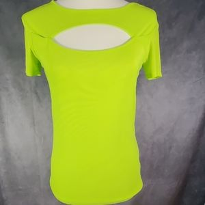 New with tag neon top